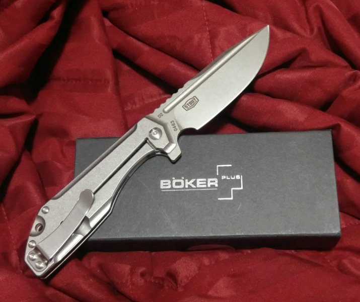 SOLD - Boker Plus Lateralus - Jason Stout design   BladeForums com